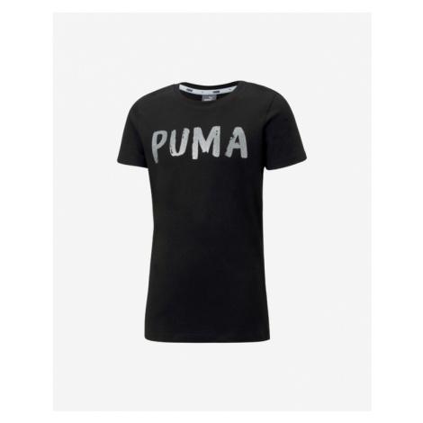 Puma Alpha Kids T-shirt Black