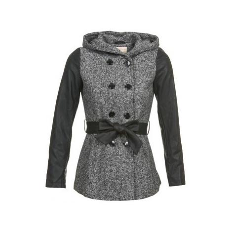 Moony Mood DAZE women's Coat in Grey