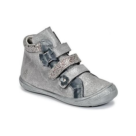 Citrouille et Compagnie FALIE girls's Children's Mid Boots in Silver