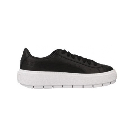 Puma TRACE OSTRICH WN' women's Shoes (Trainers) in Black