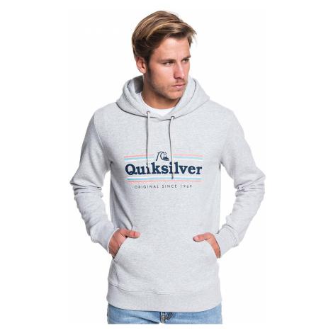 sweatshirt Quiksilver Get Buzzy Screen - SGRH/Athletic Heather - men´s