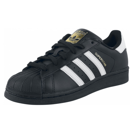 Adidas - Superstar Foundation - Sneakers - black-white