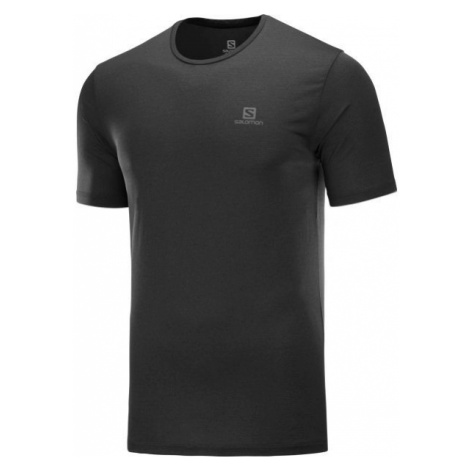 Salomon AGILE TRAINING TEE M black - Men's T-shirt