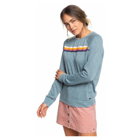 sweatshirt Roxy Wishing Away - BLN0/Trooper - women´s