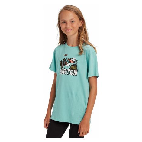 T-Shirt Burton Vizzer - Buoy Blue - unisex junior