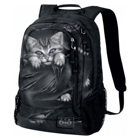 Spiral - Bright Eyes - Backpack - black