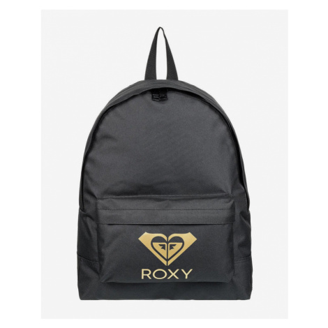 Roxy Sugar Baby Solid Logo Backpack Black
