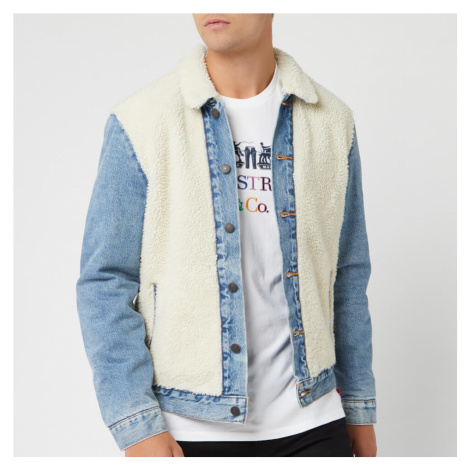 Levi's Men's Sherpa Panel Trucker Jacket - So Sheepy Levi´s