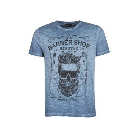 Yurban SARBER men's T shirt in Blue