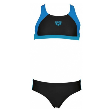 Arena G REN TWO PIECES black - Girls' two-piece swimsuit