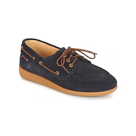 Sebago JOBSON DOCKSIDES men's Boat Shoes in Blue