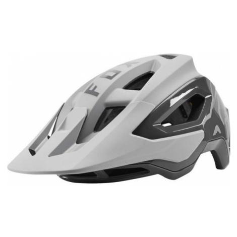 Fox SPEEDFRAME PRO white - Cycling helmet