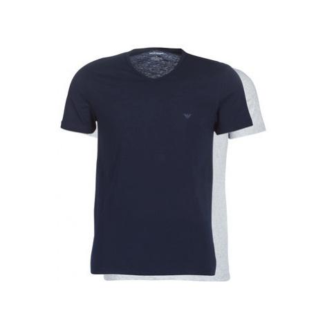 Emporio Armani CC722-111648-15935 men's T shirt in Blue