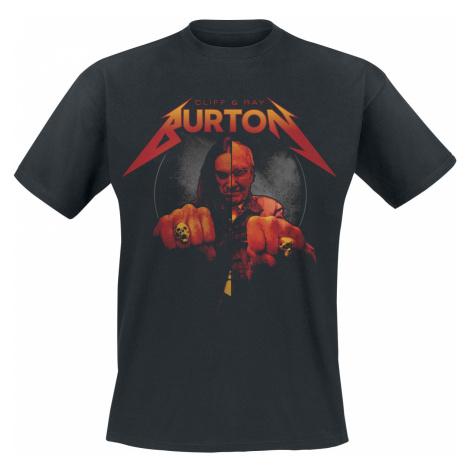 Burton, Cliff - Ray & Cliff Burton - T-Shirt - black