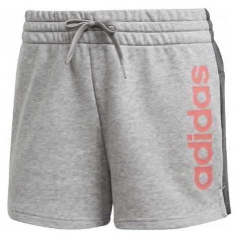adidas W E LIN SHORT grey - Women's shorts