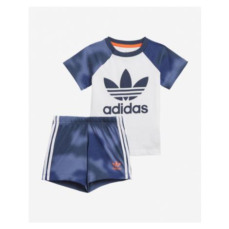 adidas Originals Camo Print Kids Set Blue White