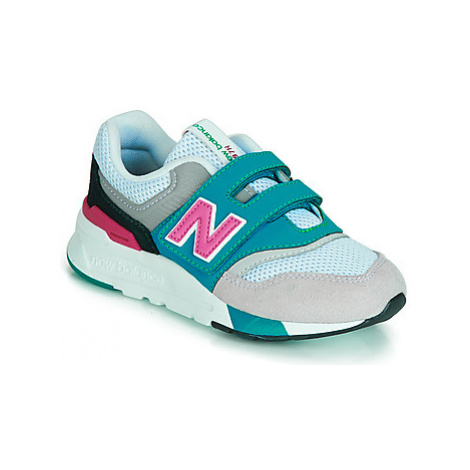 New Balance 997 girls's Children's Shoes (Trainers) in White