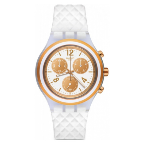 Unisex Swatch Elepink Chronograph Watch SVCK1006