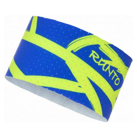 Runto WEB blue - Sports headband