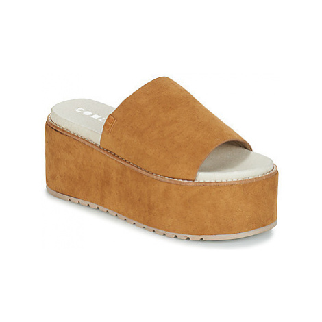 Coolway CELIA women's Mules / Casual Shoes in Brown