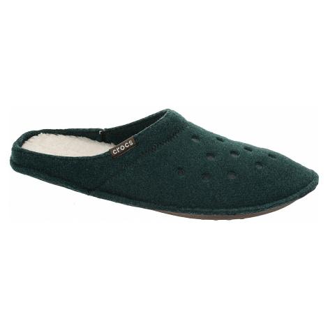shoes Crocs Classic Slipper - Evergreen/Stucco