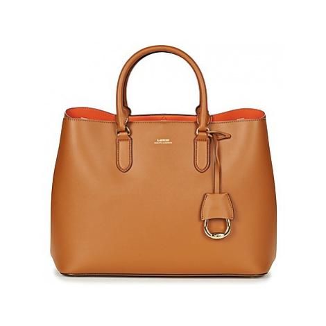 Lauren Ralph Lauren DRYDEN MARCY TOTE women's Handbags in Brown