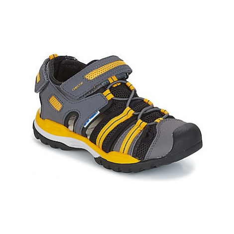 Geox J BOREALIS B. C boys's Children's Sandals in Grey
