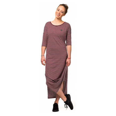 dress Horsefeathers Lillian - Burgundy Stripes