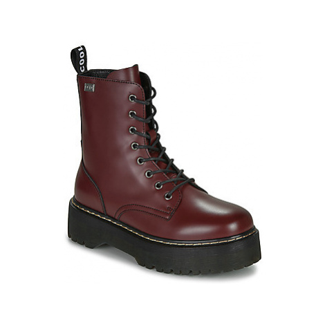 Coolway ABBY women's Mid Boots in Bordeaux