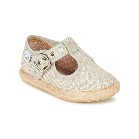 Citrouille et Compagnie GOUROU girls's Children's Shoes (Pumps / Ballerinas) in Silver