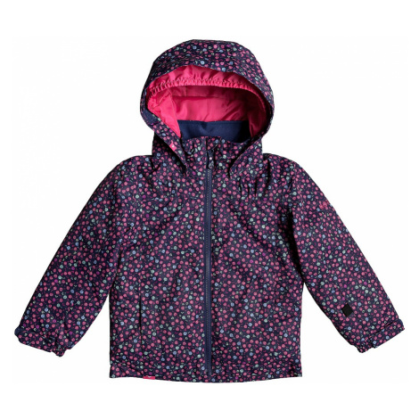 jacket Roxy Mini Jetty - BTE8/Medieval Blue Sweet Marguarite - kid´s