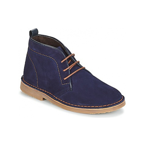 Citrouille et Compagnie JITOU boys's Children's Mid Boots in Blue
