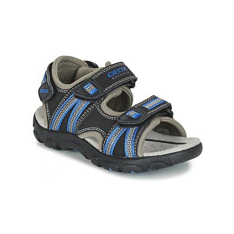 Geox J S.STRADA A boys's Children's Sandals in Black