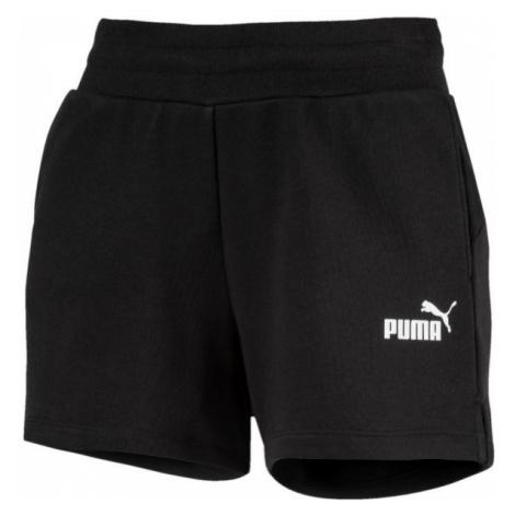 Puma ESS SWEAT SHORTS TR black - Women's sports shorts