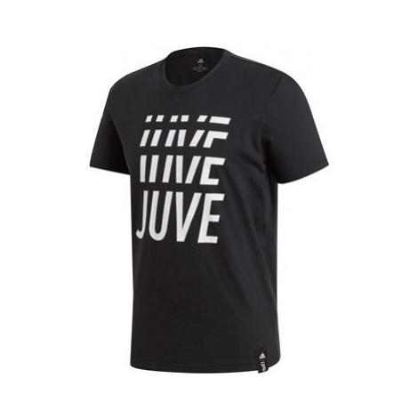 Juventus DNA Graphic Tee - Black Adidas