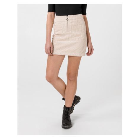 Vero Moda Cordatine Skirt Beige