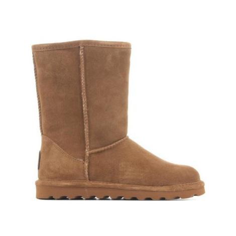 Bearpaw Elle Short 1962W-220 Hickory II women's Snow boots in Brown