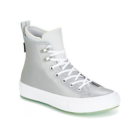 Grey women's canvas trainers