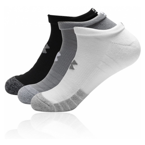 Under Armour HeatGear No Show Socks (3 Pack) - AW20