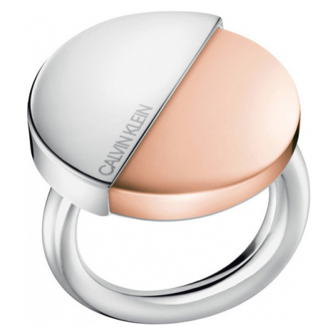 Calvin Klein Ring Silver Beige