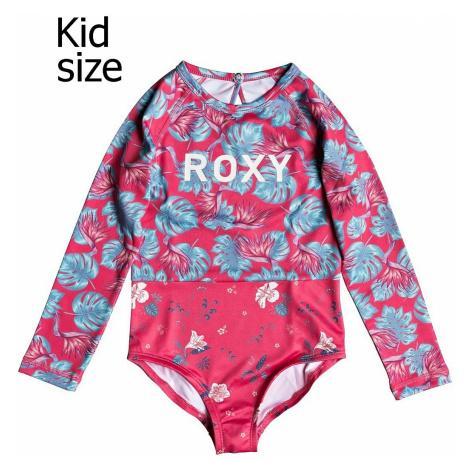 bathing suit Roxy Mermaid LS - MLJ6/Rouge Red Abyssal Tropical