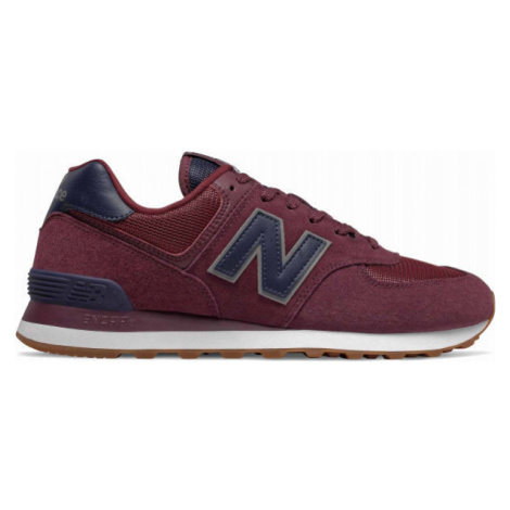 New Balance ML574SPQ red wine - Men's leisure shoes