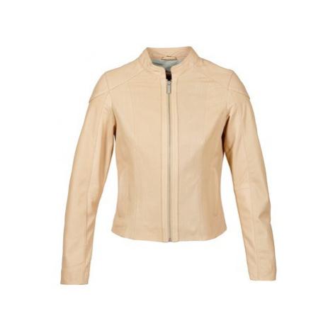 Oakwood 61848 women's Leather jacket in Beige