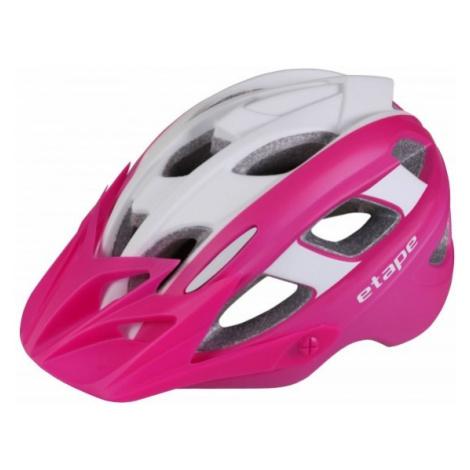 Etape HERO pink - Kids' cycling helmet