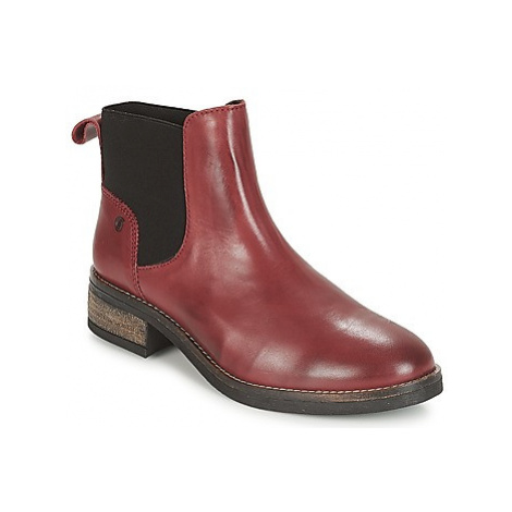 Casual Attitude JELIA women's Mid Boots in Red