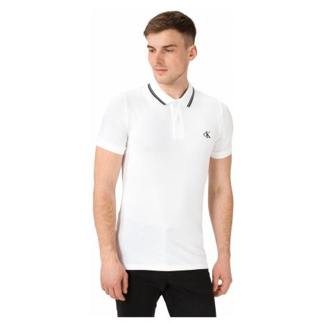 Calvin Klein Essentials Polo shirt White