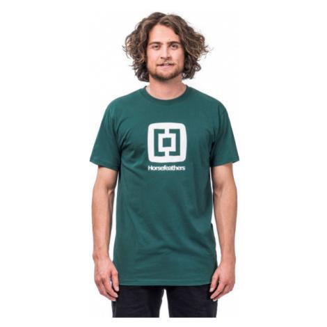 Horsefeathers FAIR T-SHIRT dark green - Men's T-shirt