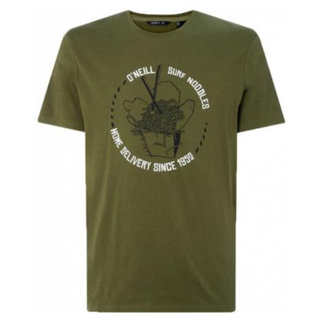 O'Neill LM SURFING NOODLES T-SHIRT dark green - Men's T-Shirt