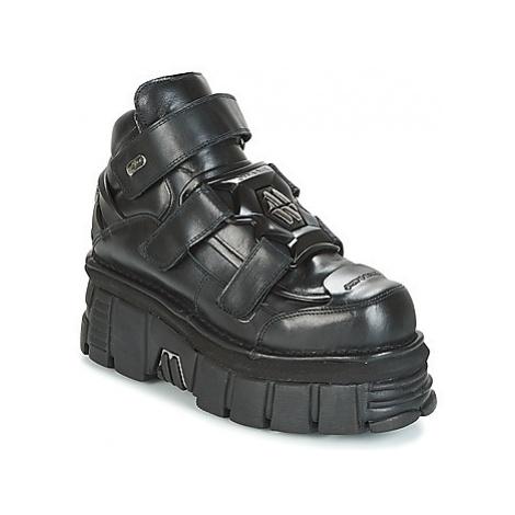 New Rock PLATEFORMROCK women's Mid Boots in Black