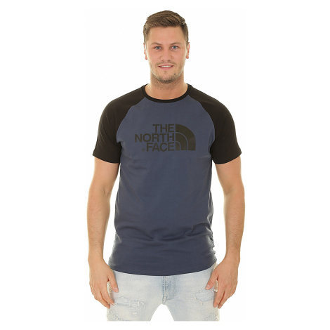T-Shirt The North Face Raglan Easy - Blue Wing Teal - men´s